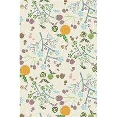 Floral Kraft Seamless Pattern 5 5  X 8 5  Notebooks by Simbadda
