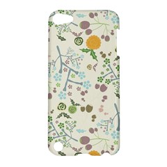 Floral Kraft Seamless Pattern Apple Ipod Touch 5 Hardshell Case by Simbadda