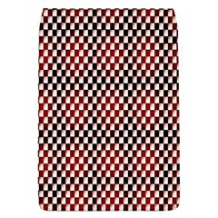 Squares Red Background Flap Covers (l)  by Simbadda