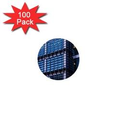 Modern Business Architecture 1  Mini Buttons (100 Pack)  by Simbadda
