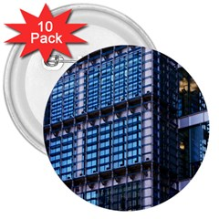 Modern Business Architecture 3  Buttons (10 Pack)  by Simbadda