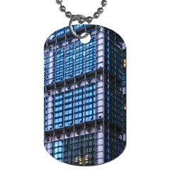 Modern Business Architecture Dog Tag (one Side) by Simbadda
