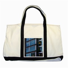 Modern Business Architecture Two Tone Tote Bag by Simbadda