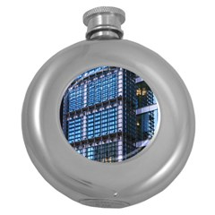 Modern Business Architecture Round Hip Flask (5 Oz) by Simbadda
