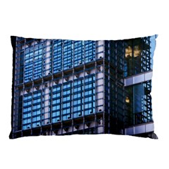 Modern Business Architecture Pillow Case by Simbadda