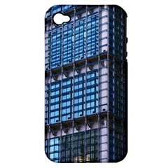 Modern Business Architecture Apple Iphone 4/4s Hardshell Case (pc+silicone) by Simbadda