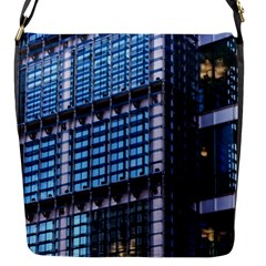 Modern Business Architecture Flap Messenger Bag (s) by Simbadda