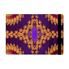 Something Different Fractal In Orange And Blue Ipad Mini 2 Flip Cases by Simbadda