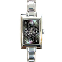 Magic Swirl Rectangle Italian Charm Watch by Simbadda