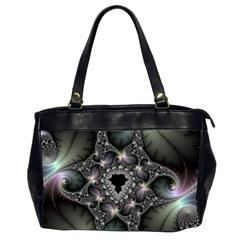 Magic Swirl Office Handbags (2 Sides)  by Simbadda