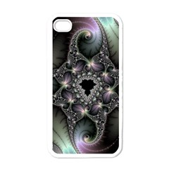 Magic Swirl Apple Iphone 4 Case (white) by Simbadda
