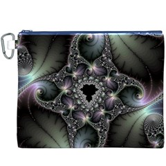 Magic Swirl Canvas Cosmetic Bag (xxxl) by Simbadda