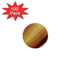 Diagonal Color Fractal Stripes In 3d Glass Frame 1  Mini Magnets (100 Pack)  by Simbadda