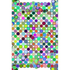Colorful Dots Balls On White Background 5 5  X 8 5  Notebooks by Simbadda