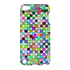 Colorful Dots Balls On White Background Apple Ipod Touch 5 Hardshell Case by Simbadda