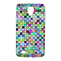 Colorful Dots Balls On White Background Galaxy S4 Active by Simbadda