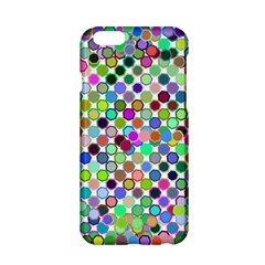 Colorful Dots Balls On White Background Apple Iphone 6/6s Hardshell Case by Simbadda