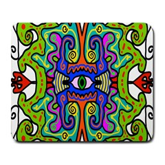 Abstract Shape Doodle Thing Large Mousepads by Simbadda