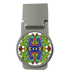 Abstract Shape Doodle Thing Money Clips (round)  by Simbadda