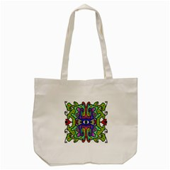 Abstract Shape Doodle Thing Tote Bag (cream) by Simbadda