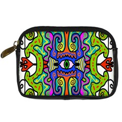 Abstract Shape Doodle Thing Digital Camera Cases by Simbadda