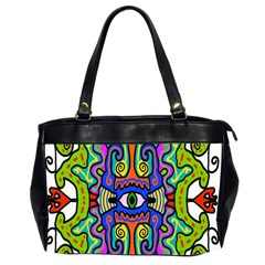 Abstract Shape Doodle Thing Office Handbags (2 Sides)  by Simbadda