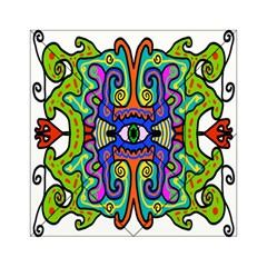 Abstract Shape Doodle Thing Acrylic Tangram Puzzle (6  X 6 ) by Simbadda