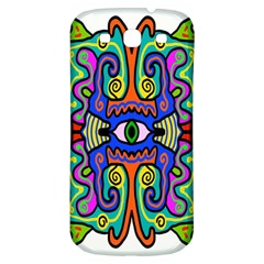 Abstract Shape Doodle Thing Samsung Galaxy S3 S Iii Classic Hardshell Back Case by Simbadda