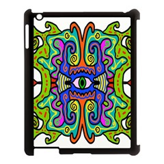 Abstract Shape Doodle Thing Apple Ipad 3/4 Case (black) by Simbadda