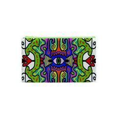 Abstract Shape Doodle Thing Cosmetic Bag (xs) by Simbadda