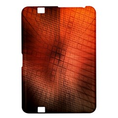 Background Technical Design With Orange Colors And Details Kindle Fire Hd 8 9  by Simbadda
