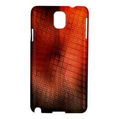 Background Technical Design With Orange Colors And Details Samsung Galaxy Note 3 N9005 Hardshell Case by Simbadda