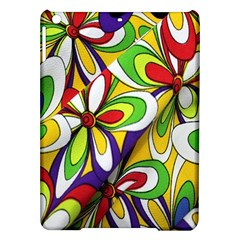 Colorful Textile Background Ipad Air Hardshell Cases by Simbadda