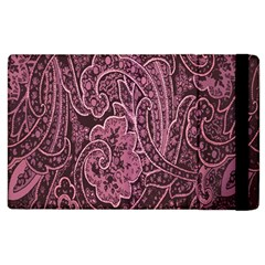 Abstract Purple Background Natural Motive Apple Ipad 2 Flip Case by Simbadda