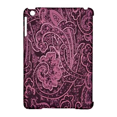 Abstract Purple Background Natural Motive Apple Ipad Mini Hardshell Case (compatible With Smart Cover) by Simbadda