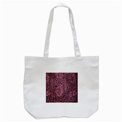 Abstract Purple Background Natural Motive Tote Bag (white) by Simbadda