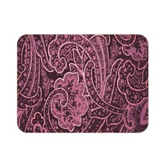 Abstract Purple Background Natural Motive Double Sided Flano Blanket (mini)  by Simbadda