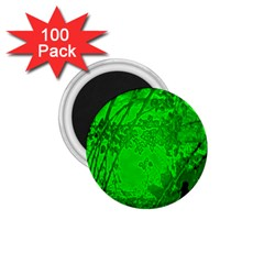 Leaf Outline Abstract 1 75  Magnets (100 Pack)  by Simbadda