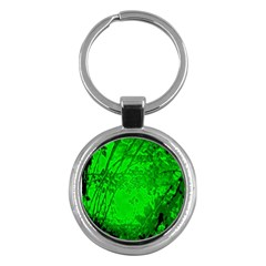 Leaf Outline Abstract Key Chains (round)  by Simbadda