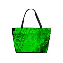 Leaf Outline Abstract Shoulder Handbags by Simbadda