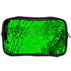 Leaf Outline Abstract Toiletries Bags 2 Side by Simbadda