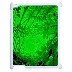 Leaf Outline Abstract Apple Ipad 2 Case (white) by Simbadda