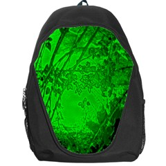Leaf Outline Abstract Backpack Bag by Simbadda