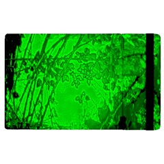 Leaf Outline Abstract Apple Ipad 3/4 Flip Case by Simbadda