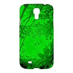 Leaf Outline Abstract Samsung Galaxy S4 I9500/i9505 Hardshell Case by Simbadda