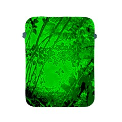 Leaf Outline Abstract Apple Ipad 2/3/4 Protective Soft Cases by Simbadda