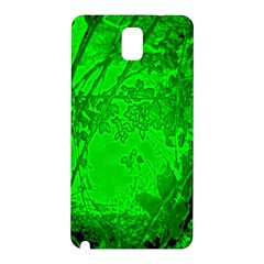 Leaf Outline Abstract Samsung Galaxy Note 3 N9005 Hardshell Back Case by Simbadda