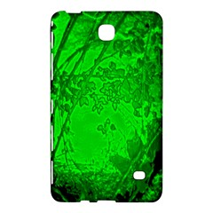 Leaf Outline Abstract Samsung Galaxy Tab 4 (7 ) Hardshell Case  by Simbadda