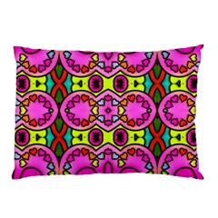 Colourful Abstract Background Design Pattern Pillow Case (two Sides) by Simbadda
