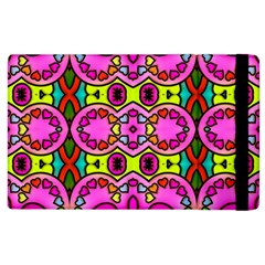 Colourful Abstract Background Design Pattern Apple Ipad 3/4 Flip Case by Simbadda